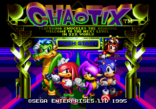 Play <b>Sonic in Chaotix</b> Online