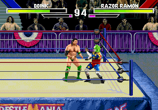 WWF WrestleMania - The Arcade Game Screenshot 1