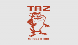 Taz Title Screen