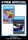 2 Pak Special - Challenge & Surfing Box Art Front