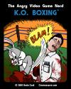 Angry Video Game Nerd K.O. Boxing Box Art Front
