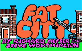 Fat City Title Screen