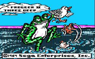 Frogger II - Three Deep