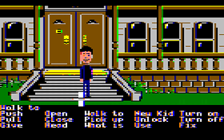 Maniac Mansion Screenshot 2