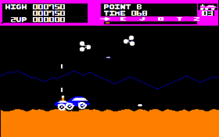 Moon Patrol Screenshot 2