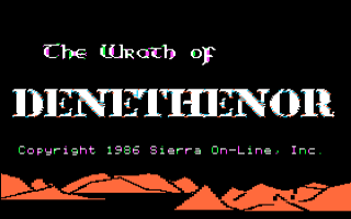 Wrath of Denethenor, The