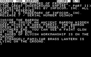 Zork II - The Wizard of Frobozz