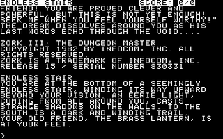 Zork III - The Dungeon Master