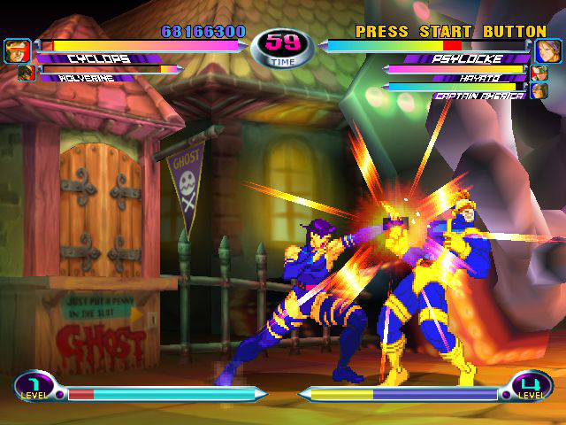 Play Marvel Vs Capcom Flash Game 4