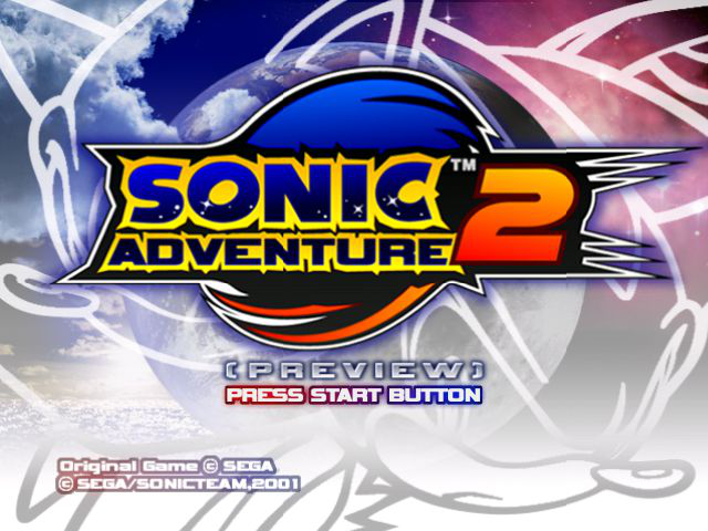 Play <b>Sonic Adventure 2 - Preview (Prototype)</b> Online