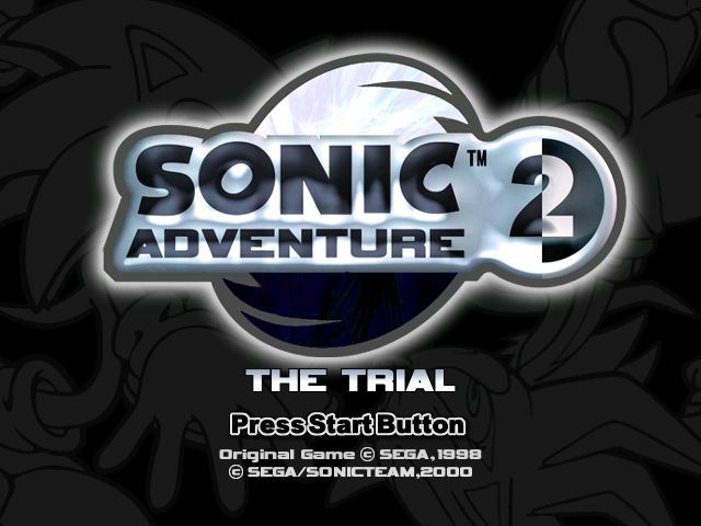 Play <b>Sonic Adventure 2 - The Trial (Prototype)</b> Online