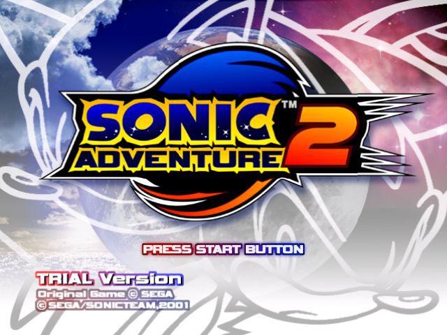 Sonic Adventure 2 - Trial Version (Prototype)