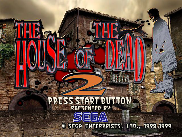 The House of the Dead 2 Title Screen