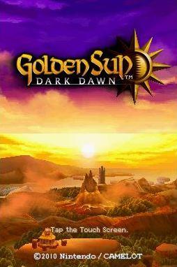 Golden Sun: Dark Dawn (DS) Game - DS Golden Sun: Dark Dawn (DS)