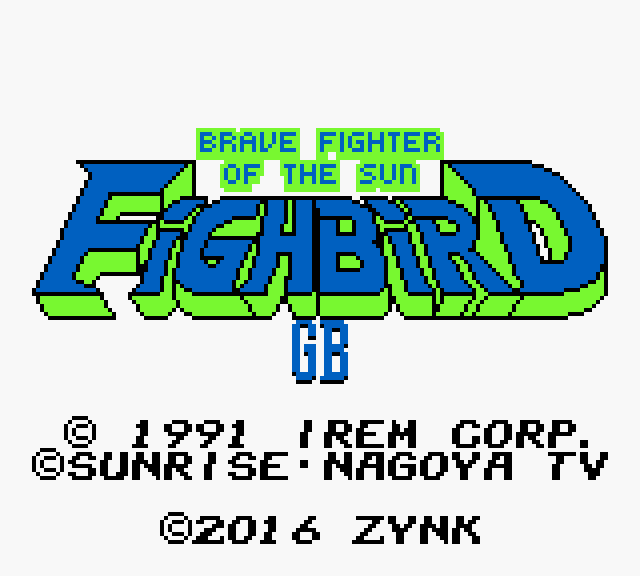 Play <b>Brave Fighter of the Sun - Fighbird GB</b> Online