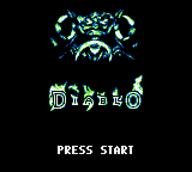 Diablo (prototype) Title Screen