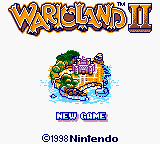 Wario Land II Title Screen