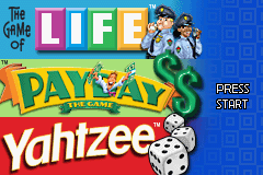 3 Game Pack! - The Game of Life, Payday, Yahtzee