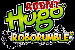 Agent Hugo - Roborumble Title Screen