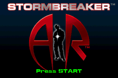 Alex Rider - Stormbreaker Title Screen