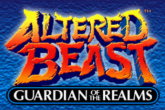 Altered Beast - Guardian of the Realms Title Screen
