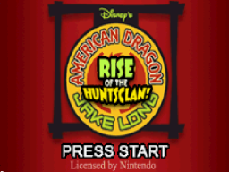 American Dragon - Jake Long - Rise of the Huntsclan Title Screen