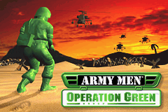 Army Men - Operation Green Title Screen