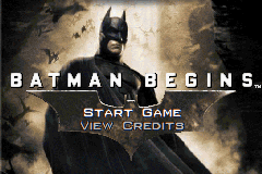 Batman Begins Title Screen