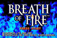 Play <b>Breath of Fire Color Restoration</b> Online