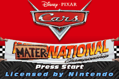 Cars - Mater-National Championship