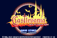 Play <b>Castlevania Aria of Sorrow Alter</b> Online
