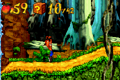 Crash Bandicoot Advance Screenthot 2