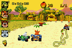 Crash Nitro Kart Screenshot 1