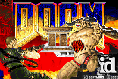 Doom II Title Screen