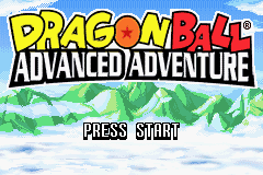 Dragon Ball - Advanced Adventure Title Screen