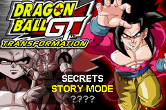 Dragon Ball GT - Transformation Title Screen