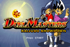 Duel Masters - Kaijudo Showdown Title Screen