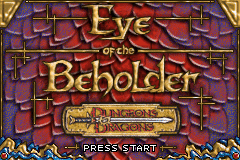 Dungeons & Dragons - Eye of the Beholder