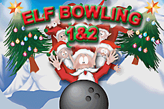Elf Bowling 1 & 2 Title Screen