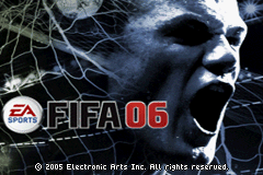 FIFA Soccer 06 Title Screen
