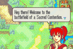 Fire Emblem - Sacred Contention Screenthot 2