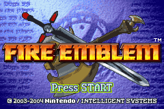 Fire Emblem Title Screen
