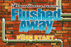 Flushed Away Title Screen
