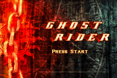 Ghost Rider Title Screen