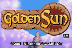 Golden Sun Title Screen