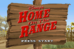 Home on the Range Title Screen