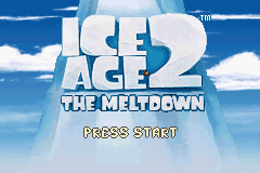 Ice Age 2 - The Meltdown Title Screen