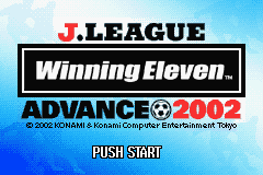 J-League Winning Eleven Advance 2002