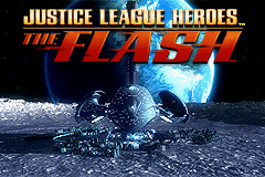Justice League Heroes - The Flash Title Screen
