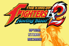 The King of Fighters EX2 - Howling Blood Title Screen